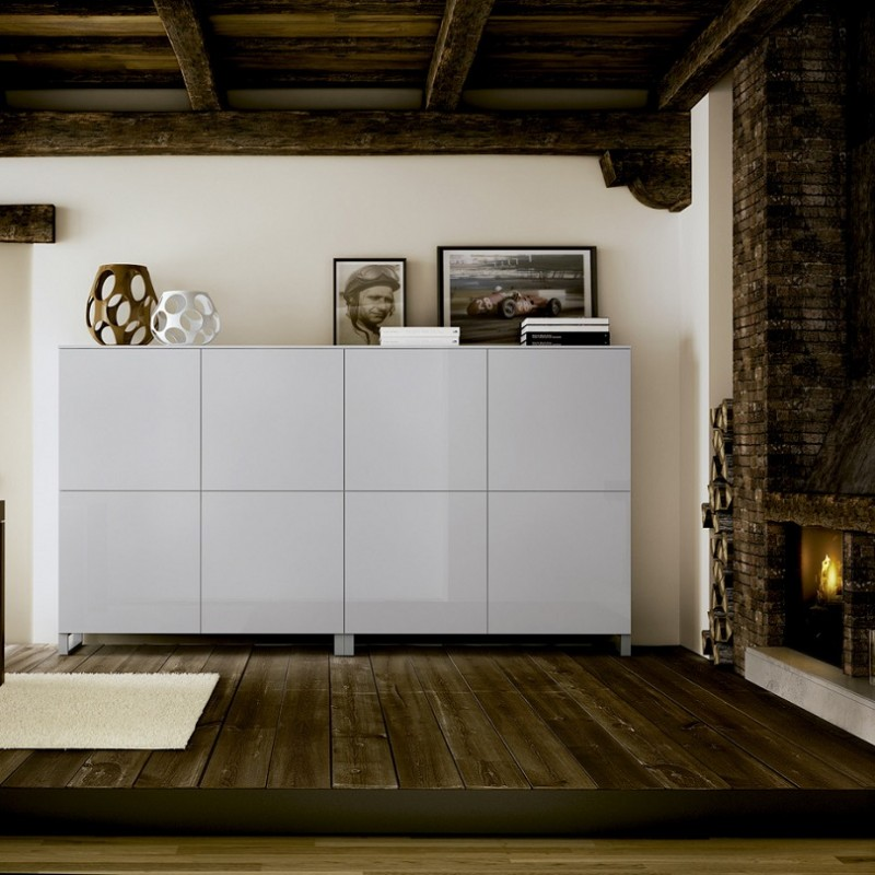 L nea actual carr aparador sal n dinning for Muebles carre