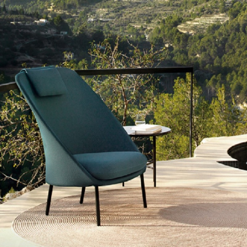 EXPORMIM SILLÓN TWINS ALTO OUTDOOR