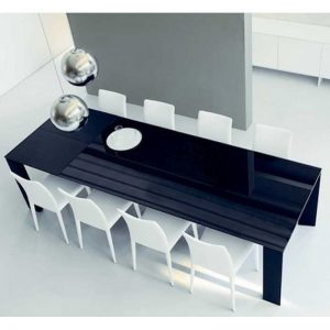 MESA MODERNA CROSS EXT. BONALDO